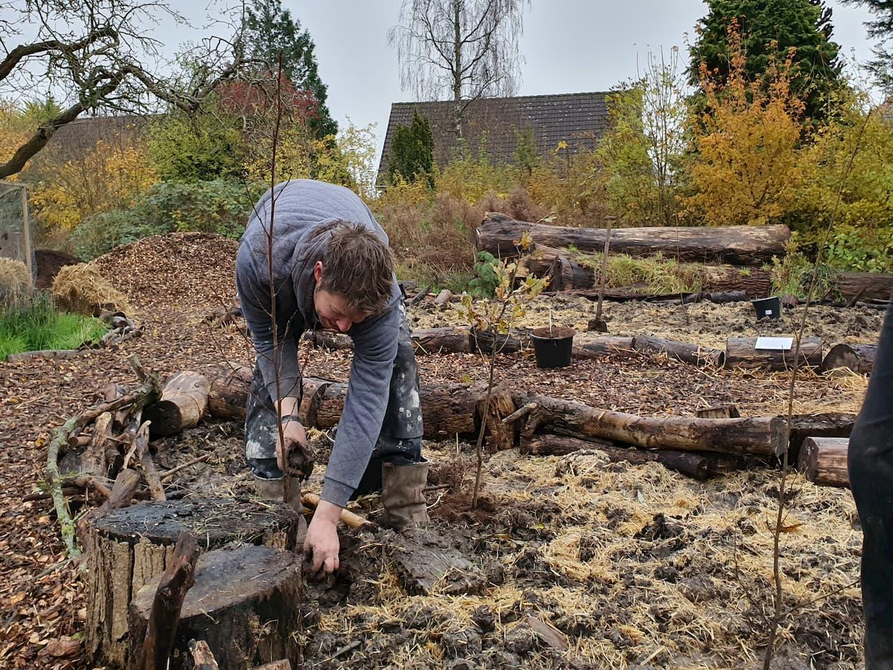 Schrieverswold | Plantdag | Sven plant boom