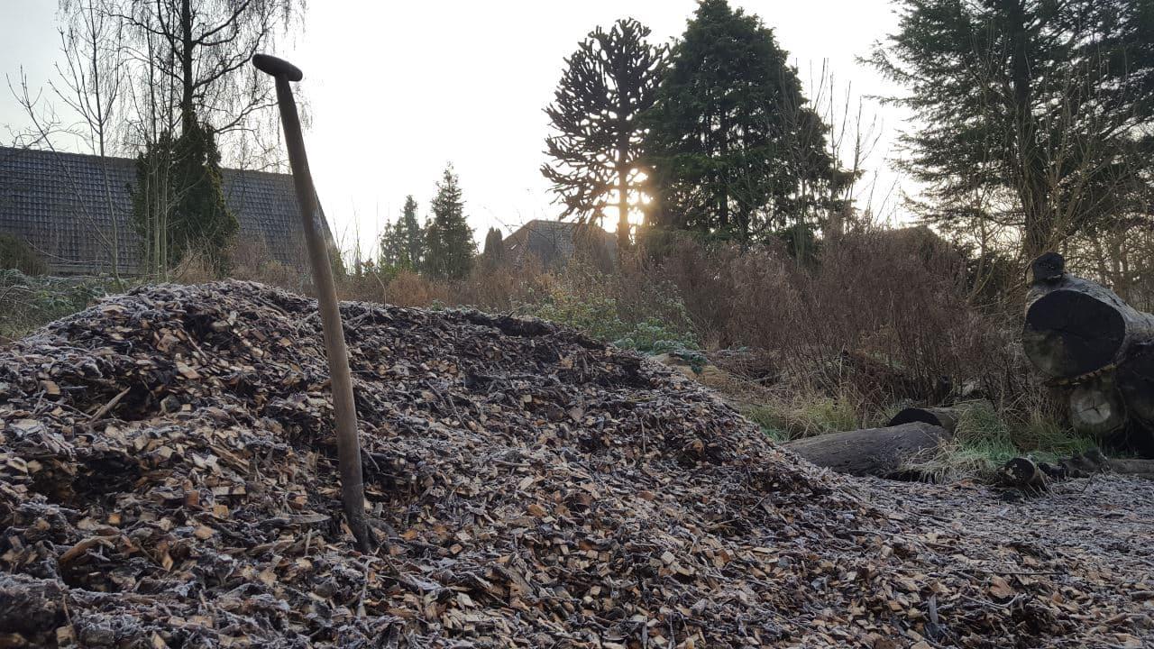 Houtsnippers voor de bospaden | Schrieverswold